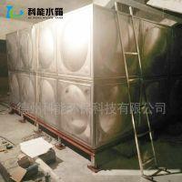 科能水箱专业生产304不锈钢隔板水箱 屋顶家用热水箱防渗抗震不生锈