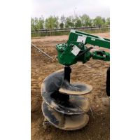 50公分植树挖坑机 背负式后悬挂 围栏电线杆子挖坑机