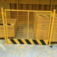 低碳钢丝基坑护栏 防护网现货供应 建筑施工安全围栏基坑护栏