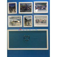 惠州软木板厂家E湛江单面铝框软木告示板R企业文化展示墙