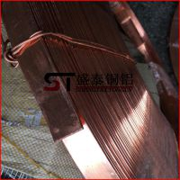 盛泰供应 T2紫铜排 纯铜排 接地紫铜排 易加工切割