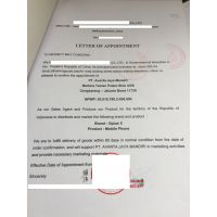 出口商授权国外进口商 授权书厄瓜多尔驻华使馆认证加签