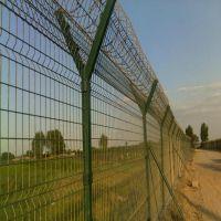 朋英厂家供应机场护栏网浸塑铁丝机场护栏网浸塑
