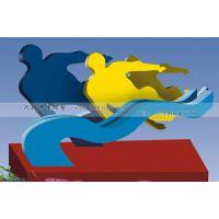 304#校园人物雕塑抽象不锈钢雕塑设计 学校不锈钢雕塑价格