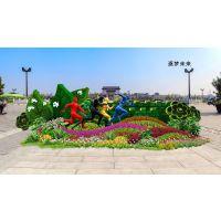 植物雕塑造型 佛甲草五色草雕塑造型 立体雕塑造型
