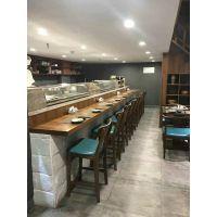 甜品店、咖啡厅、料理店吧台椅 行一家具打造简约现代风