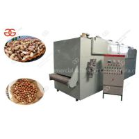Continuous Cashew Nut Roasting Baking Machine For Sale