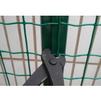 养殖护栏网现货,绿色铁丝网,勾花护栏网生产厂家