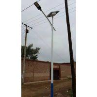 江西赣州市龙南县7米 12V A字臂太阳能路灯专用胶体电池工程案例 厂家定制质保三年