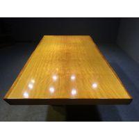 黄花梨实木大板办公桌大班桌 精品原木大班台书桌 红木家具会议桌