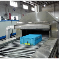 广州佛山周转箱清洗机厂家 专业定做流水线箱子清洗机-佳和达