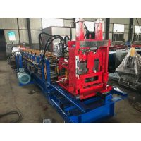 c型钢机 无极切断80-300钢带檩条设备 地鑫供应