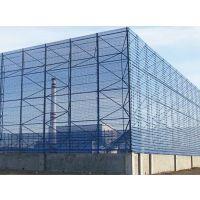防尘网安装,煤厂挡风墙长度可加工,圆孔型