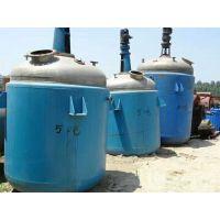 无锡厂家出售二手1吨2吨3吨不锈钢反应釜、搪瓷电加热反应釜