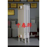 中春暖通 SCGGZY6-2.2/600-1.0 圆管六柱暖气片 工业钢六柱散热器 落地挂墙安装
