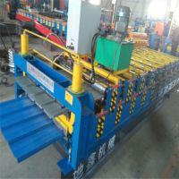 河北地鑫出售双层压瓦机 840-900彩钢瓦生产设备
