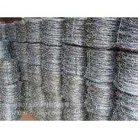 场地围栏冷镀锌刺绳(7-10米/公斤)瑞才定做生产