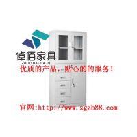 北京钢制文件柜文件整理柜 倬佰钢制柜更衣柜储物柜