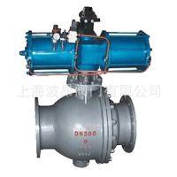 厂家直销Q647MF气动卸灰球阀 气动喷煤粉球阀