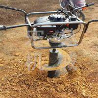 拖拉机带植树挖坑机 电线杆挖坑机打洞机打孔机