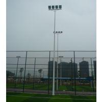 运动场用灯杆灯柱 佛山篮球场灯光照明器材 柏克厂家生产锥形杆系列