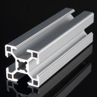 供应3030欧标工业铝型材氧化表面处理,6063材料工业支架类型材