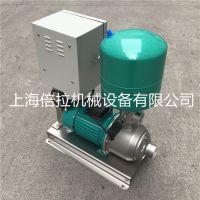 稳压泵MHI203DM变频恒压水泵WILO威乐不锈钢全自动加压泵