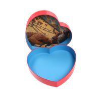 印刷厂设计生产一条龙 心形礼品盒 巧克力包装盒