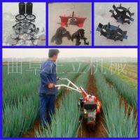 小型大马力开沟培土机 农用微耕机 蔬菜大棚松土耕整机价格图片