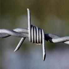 刺丝网围墙 刺绳型号有哪些 刺绳立柱规格