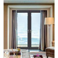 铝合金对开门 高端佛山铝门 铝合金门窗厂招商加盟 伊美德门窗 欧式平开门隔音