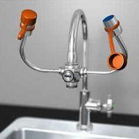 1.9 洗眼器 YL1101实验室两用洗眼器 铸铜