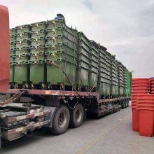 户外大型移动垃圾箱,重庆660升手推清洁车厂家供应
