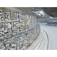 厂家直销包塑石笼网、边坡防护河流截流用网箱、生态绿格网