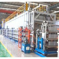 铝轮毂固溶炉 大型推杆式铝铸件T4加工设备 金力泰铝合金热处理炉