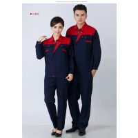 深圳厂家直销夏季短袖汽修工作服、夏季薄款工作服polo衫定做LOGO