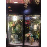 供应鲜花保鲜柜冷藏展示柜尺寸可定做,配置进口名牌压缩机,高透中空玻璃,美观大方