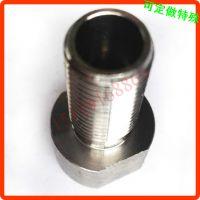 镀金铝螺丝 大小螺纹接头螺丝母 双头铝螺杆 订做加工M345681012
