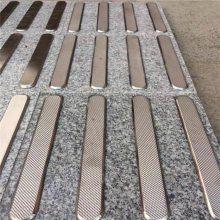 金裕 江苏厂家生产 过道不锈钢盲道条 直条盲道条 支持定制