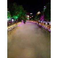 贵州贵阳铜仁温泉度假区人造雾旅游景区景观雾化冷雾装置工程