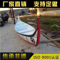 【楚水木船】厂家供应 欧式木船cs-006手划船 8M豪华公园观光游船7-8人座出售定制