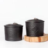紫砂茶叶罐密封罐储物醒茶罐小青柑包装罐防潮透气家用茶叶陶瓷罐