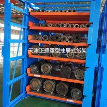 抽屉货架品牌供应 上海管材一般存放方法 100%抽拉 货架厂家