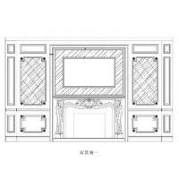 大理石背景墙--北京高档别墅酒店装修用石材批发加工施工