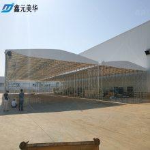 杭州下城区定做伸缩施工仓库雨蓬订购车间推拉雨棚布移动固定帐篷咨询