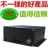 巴士貨車大客車硬盘+SD卡監控主機1080P高清4G无线手機车载录像机