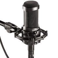 Audio Technica/铁三角 AT2035电容麦克风 金色套装K歌录音话筒yy