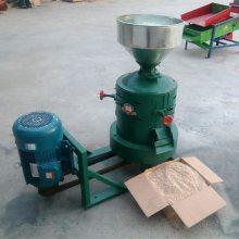 二相电脱皮碾米机 家用谷子去壳碾米机 阳泉小型脱皮机