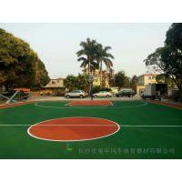 株洲户外篮球场地面用什么材料 石峰小学一个塑胶篮球场建设需要多少钱