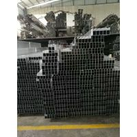 江苏墙面装饰木纹铝方管 圆廊景观铝方管